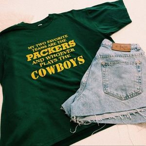 Vintage Green Bay Packers T-shirt